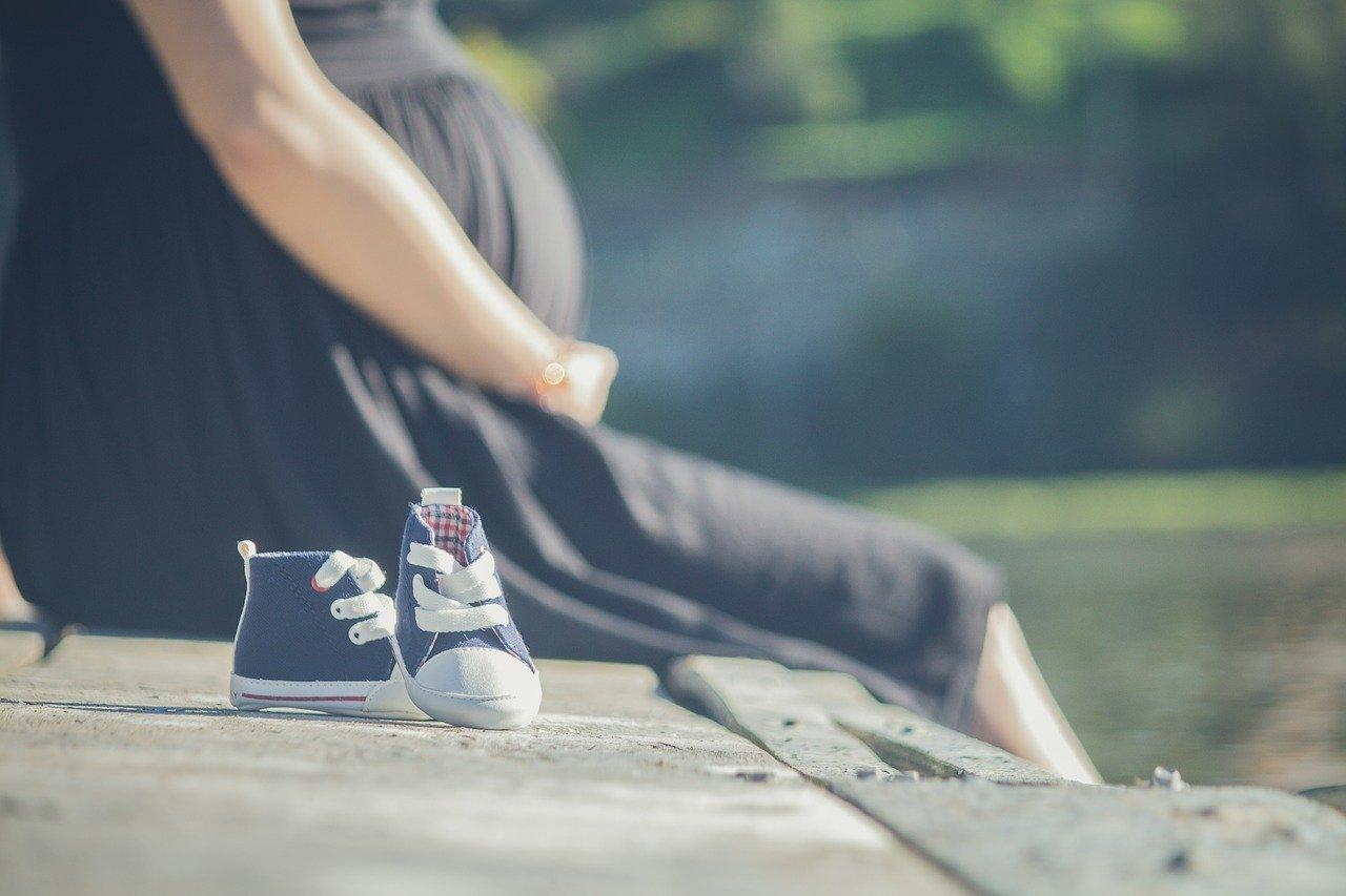 妊娠中の母親