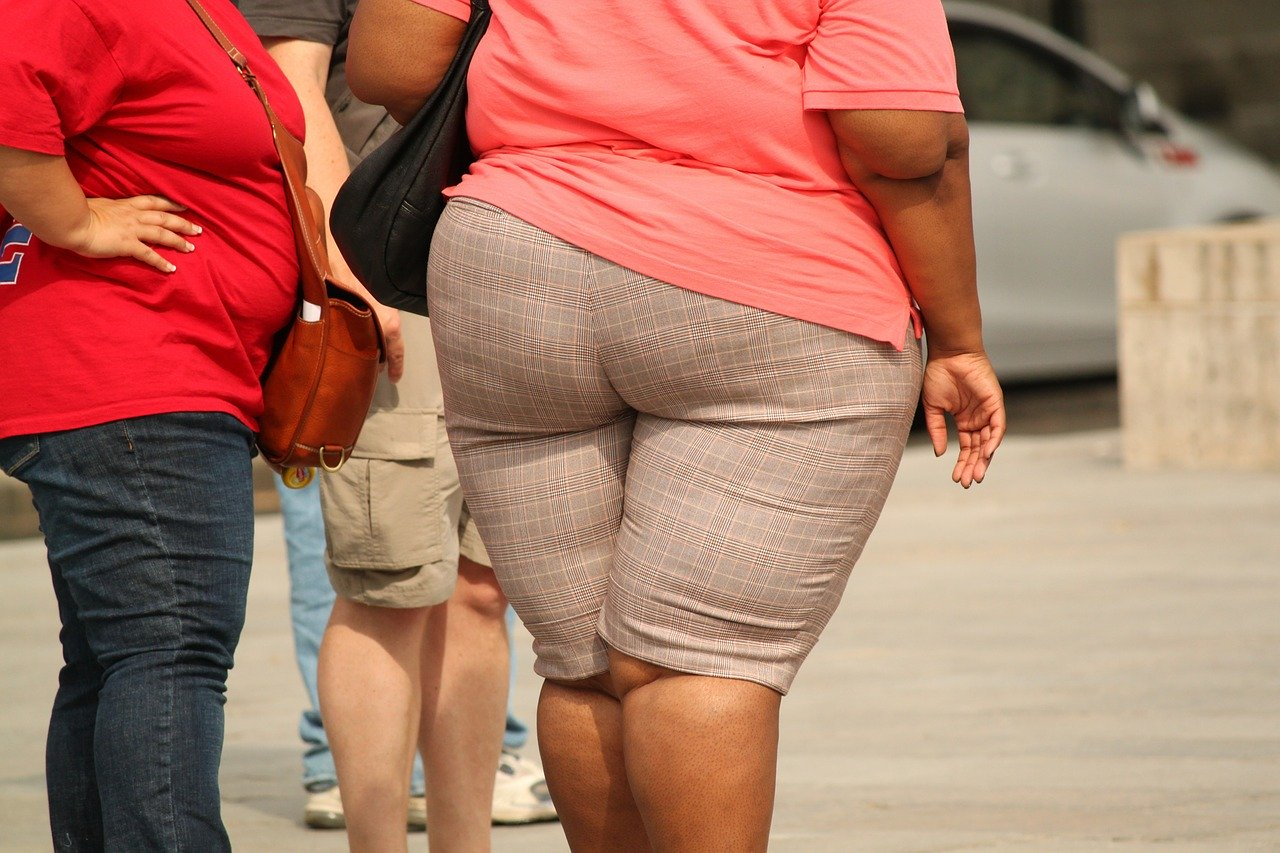 太りすぎた女性