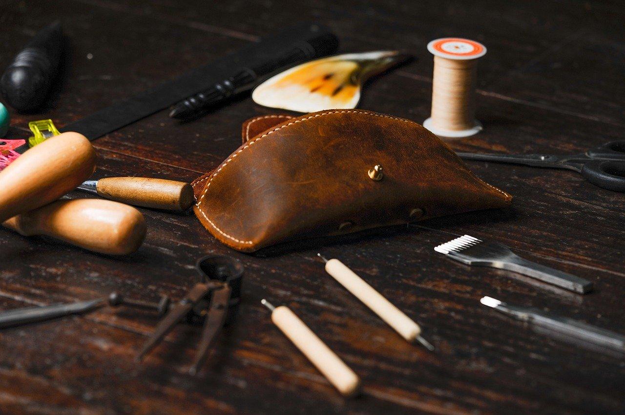 革製品のハンドメイド