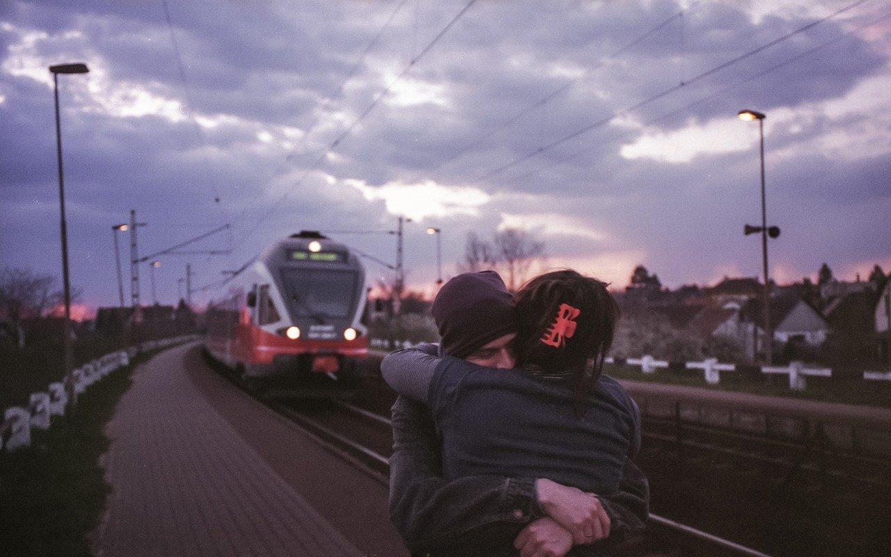 別れ際の恋人