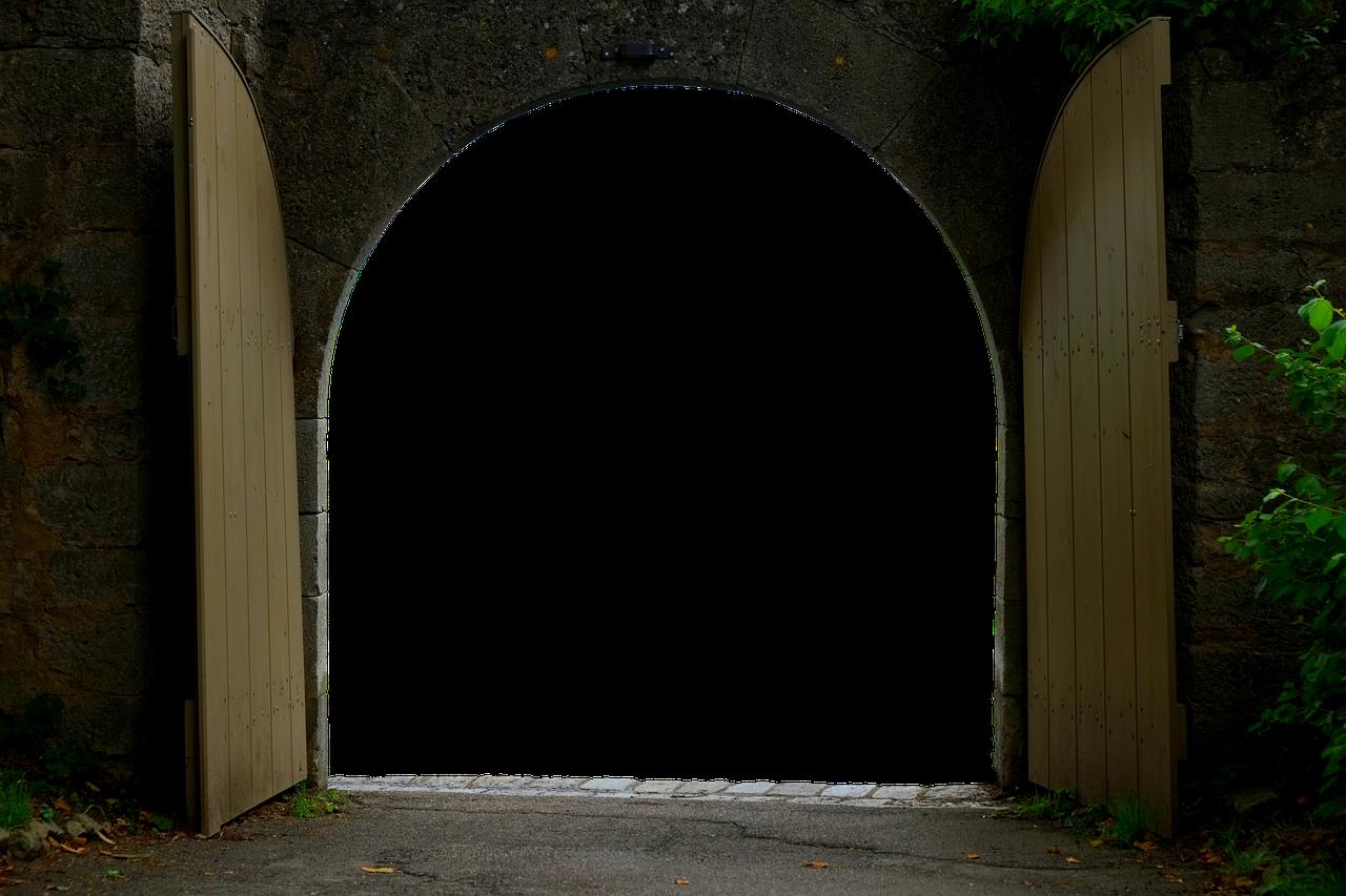 開かれた門