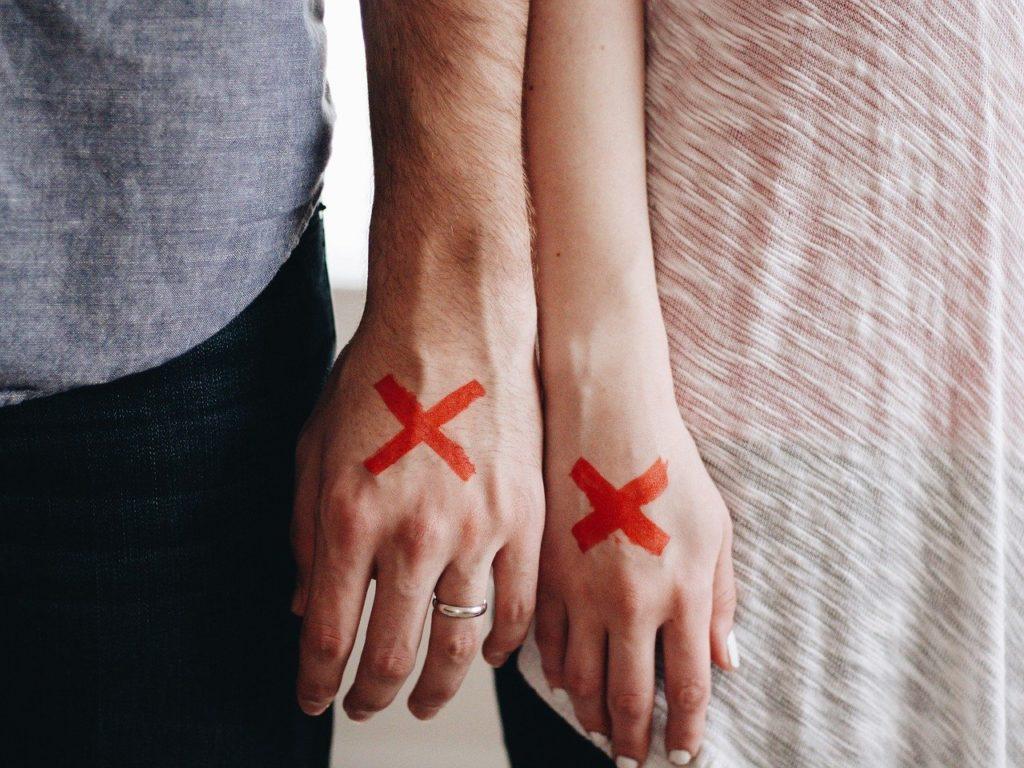 離婚をする夫婦
